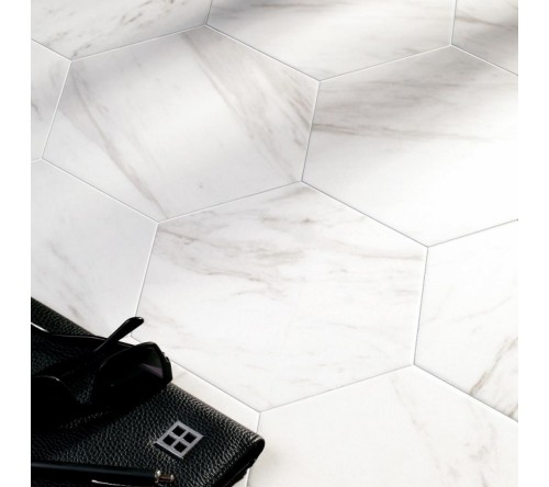 Carrara Hex