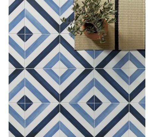 Blue Diagonale